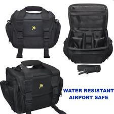PRO PADDED SLR GADGET BAG FOR DSLR CAMERAS-LARGE  (BLACK) ***BRAND NEW***