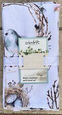 Colordrift Robins Egg Bird Nest Cloth Napkins Set 4