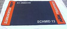 KTM-original-Tankmatte inkl. Namen Aufdruck 95,- Garagen -Teppich