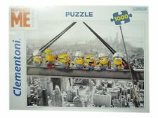 Despicable Me Minions Girder Jigsaw Puzzle 1000 Pieces Puzzle Toy New Sealed