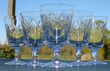 Lorraine Lemberg? Val Saint Lambert? - Service de 6 verres à eau en cristal