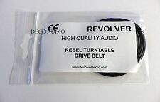 Revolver & Rebel turntable drive belt. Genuine.  DECO