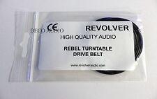 Revolver & Rebel turntable drive belt. Genuine.  DECO