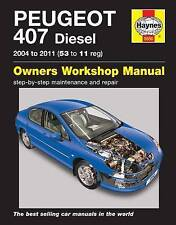 Peugeot 407 Repair Manual Diesel models 2004-2011