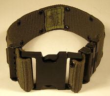 US Military Olive Drab Green Fatigue Web Pistol Belt Large Dog Breed Collar