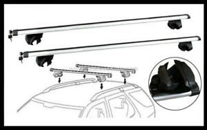 2x NEW CROSS BAR ROOF RACK For TOYOTA TARAGO 2000- 2021 goes on side roof rails