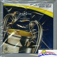 2014/15 Panini Champions League Stickers HUGE 50 Pack Sealed Box-250 Stickers!