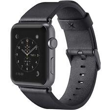 Belkin Correa de cuero negro Apple Watch 42mm F8w732btc00