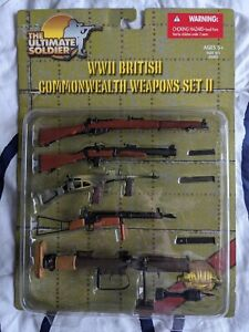 The Ultimate Soldier British Commonwealth Weapons Set 2