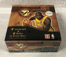 RARE 2001-2002 Topps Pristine NBA Basketball Box Jordan Kobe Refractor