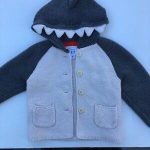 Baby Shark Sweater 18-24mo by Baby Gap