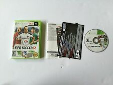 FIFA Soccer 12 Xbox 360 Complete CIB PERFECT DISC Fast Shipping Worldwide!!!