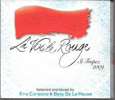 DIGIPACK 2 CD 34 TITRES--LE VOILE ROUGE--ST TROPEZ 2009--MIXED BY KRIS CORLEONE
