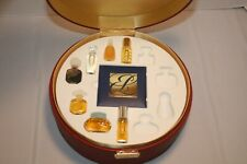 Estee Lauder Mini Perfumes in Red Round Case