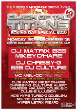 CLASH OF THE TITANS  Boxing Day Special 2016