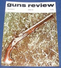 GUNS REVIEW MAGAZINE FEBRUARY 1974 - THE 'SCORPION' AIR PISTOL