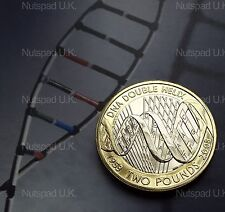 2003 Brilliant Uncirculated ' DNA Molecule '  £2 coin BU Rare Coin Hunt