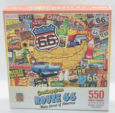 Master Pieces Greetings From Route 66 550 Piece Jigsaw Puzzle