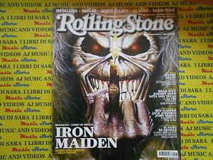 ROLLING STONE MAGAZINE 57/2008 Iron Maiden Metallica Ben Harper Metallica No*cd
