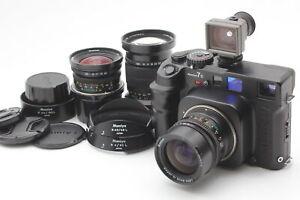【MINT+3】 Mamiya 7 II Medium Format Film Camera N 43mm 65mm 150mm Lens From JAPAN