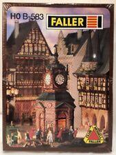 Faller HO Model Kit No. B-583 Clock Tower