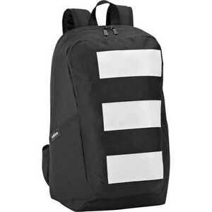 adidas Parkhood 3 Stripes Black/White Backpack New