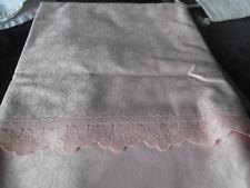 XXL Tischdecke Tafeltuch Irisette  rosa 130 x 225  cm     N  E  U