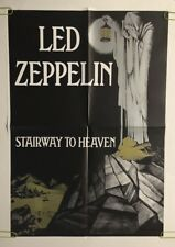 Led Zeppelin Vintage Poster Stairway To Heaven Promo Music Ad Pin-up Lantern