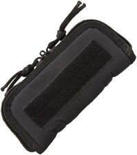 """Knife Tool Pouch 7"""" Case Black Cordura Padded Lining Zippered Closure ac181"""