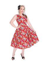 Cotton Blend Summer/Beach Floral Dresses for Women