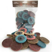 30 Pack of DocaDisc 2 inch Roloc Quick-Change Surface Conditioning Discs 2