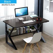 Computer Desk PC Laptop Table Study Workstation Home Office w/Shelf Furniture US