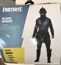 Fortnite Black Knight Adult Small Halloween Costume Complete Set