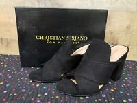 Christian Siriano 182376 ALYSE Black Women's Heels Shoes Size 7 NWB