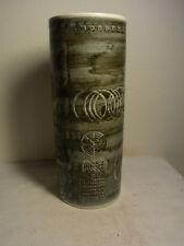"Mid Century 60s 70s Vases 12"" Sarek Olle Alberius Rorstrand Sweden Stoneware #^"