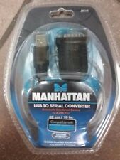 Manhattan USB to Serial Converter Cable 18-in. Model # 205146