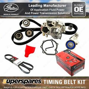 Gates Timing Belt Kit for Audi A4 8E2 8E5 2.4L 125KW 2393CC Petrol BDV 01 - 04