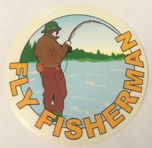 Fly Fisherman / CLASSIC FISHING STICKER