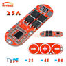 3S/4S/5S 25A 18650 Li-ion Lithium Battery BMS Protection Circuit Charging Board