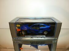 WELLY 9860W MERCEDES BENZ C-CLASS SPORT COUPE - BLUE 1:18  - EXCELLENT IN BOX