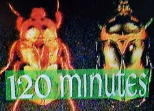MTV 1990 120 Minutes and Liquid Television w/Commercials VHS Blank As Sold