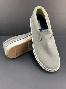 Sperry Top-Sider Halyard Slip-On Fashion Sneakers Shoes Men's Size 8M Gray