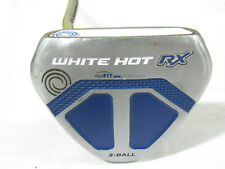 """Used LH Odyssey White Hot RX 2-Ball V-Line 35"""" Putter"""