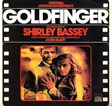 """GOLDFINGER - Shirley Bassey & John Barry (Vinile=MINT) LP 12"""" Film RARISSIMO"""