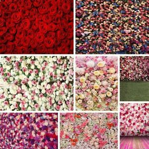 5x7ft Valentine's Day Photography Backdrops Floral Rose Wedding Wall Decors