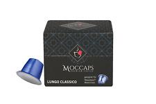 Kaffee Lungo kaffeekapseln, nespresso® kompatibel, 10 Stück, Moccaps Kaffee