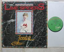 "LIME SPIDERS – Jessica  12"" Maxi   Virgin – VOZT 023  Australien"