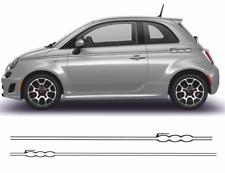 Fiat 500 Autocollants bandes  kit stickers décoration adhésif autocollant decal