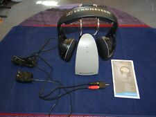 Sennheiser Wireless Headphones HDR120/TR120 With Adapter + Manual *Free Shipping