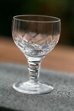 "Stuart Crystal ""Beau"" wine glasses."